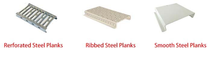 steel planks