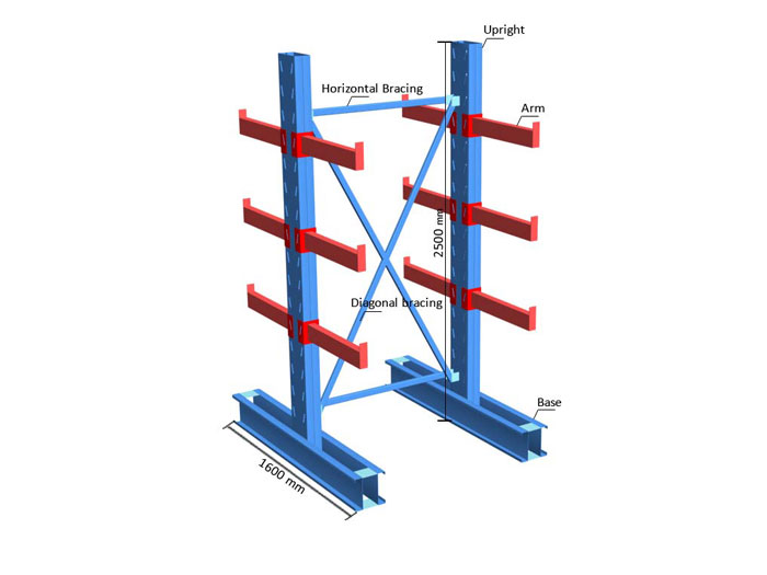 cantilever pallet racking