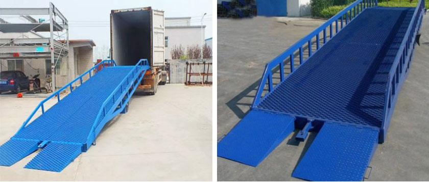 hydraulic mobile dock ramp