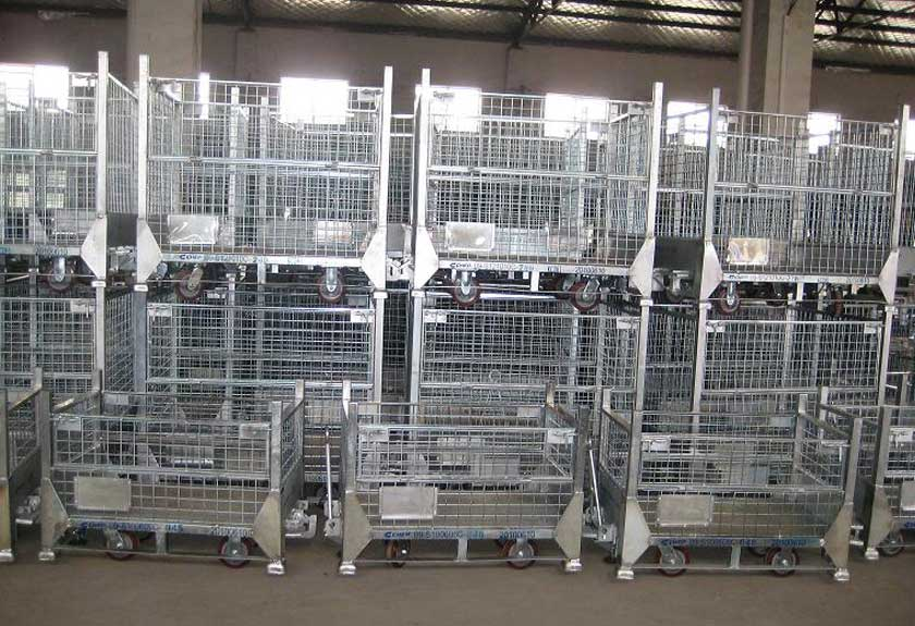 metal cage containers