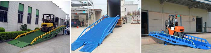 container dock ramp