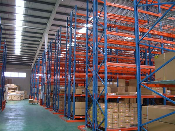 steel drive in pallet racking