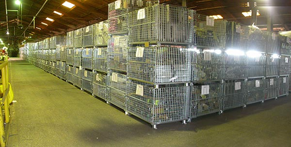 wire mesh pallet containers