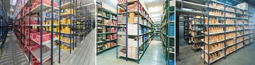 angle slotted steel shelving systems