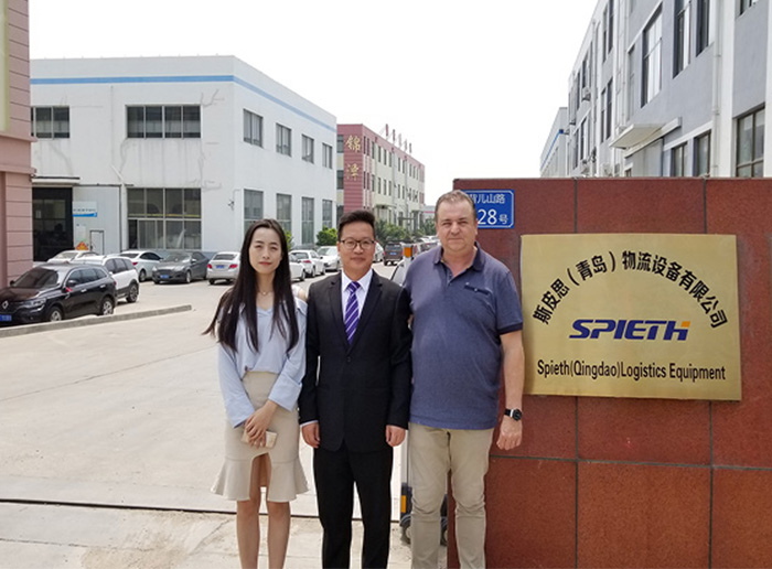 A Customer from Holland visited our factory