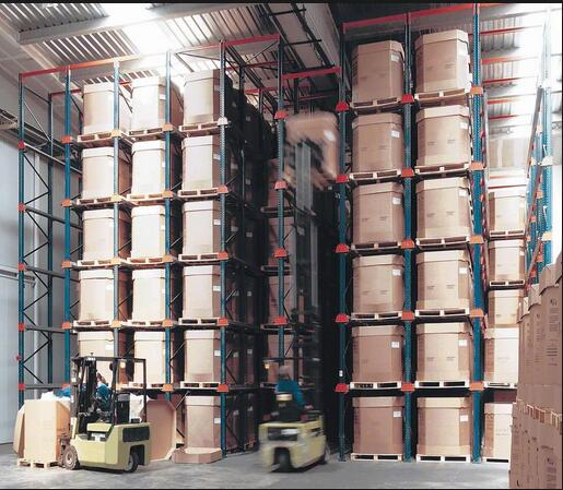 Intensive Storage Shelves of Drive-in Racking Systems