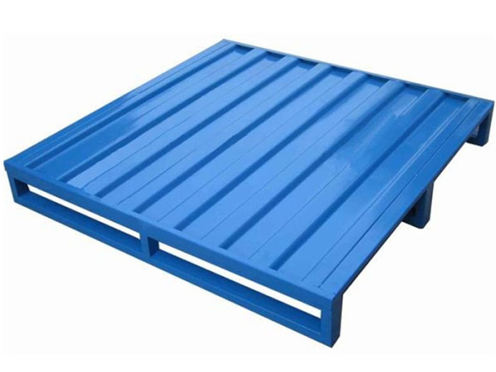 How does stackable steel pallet improve our work efficiency