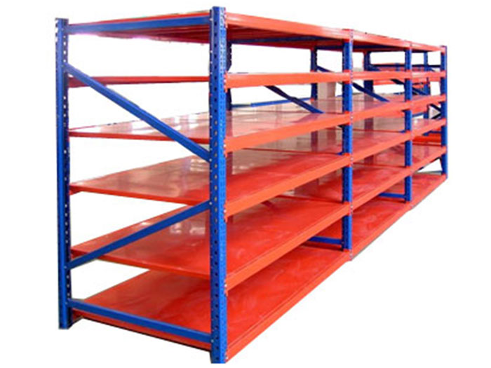 The characteristics of medium sized partition shelf in manual picking up