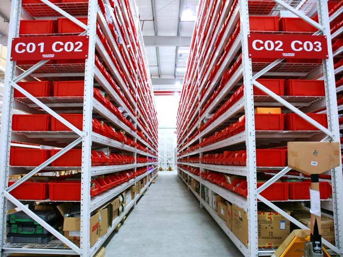 Characteristics of industry steel racking system