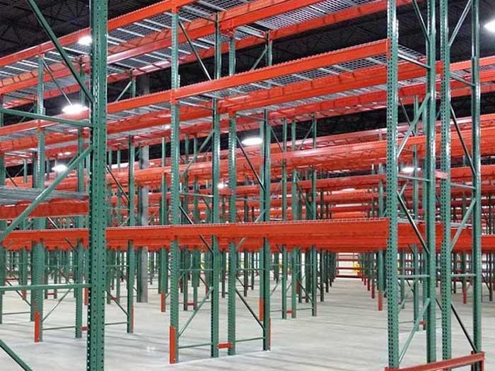 Application of warehouse steel storage racking in food industry
