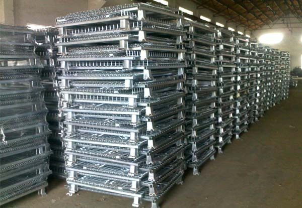 What is wire mesh storage containers?
