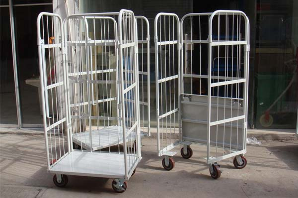 Characteristics of different types of logistics trolley cages