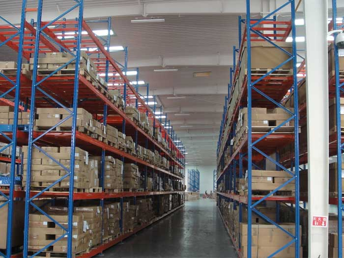 Racking production process of storage racking manufacturer of spieth (Xiamen) Technology Co., Ltd