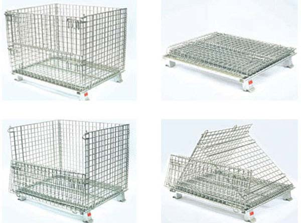 Do you know how to use the wire mesh storage cage correctly