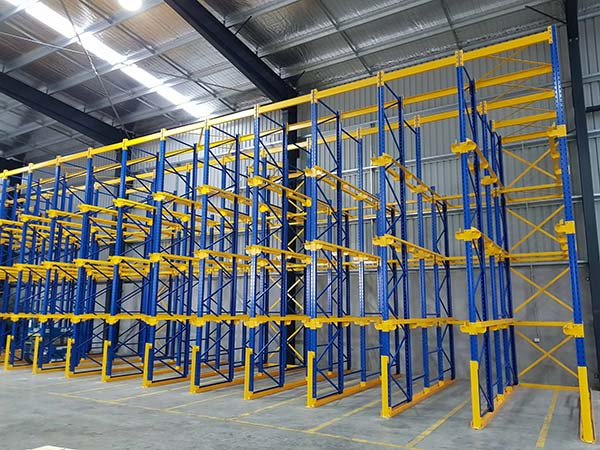 How to improve the stability of heavy duty storage shelves