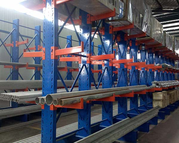 The use characteristics and unique design of cantilever rack