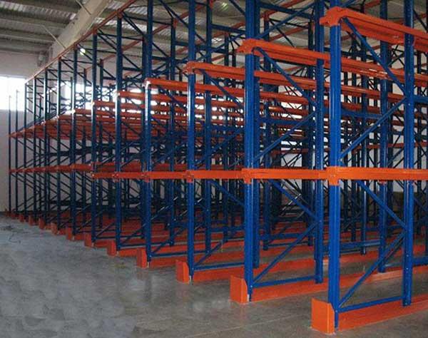Design basis of push back pallet rack
