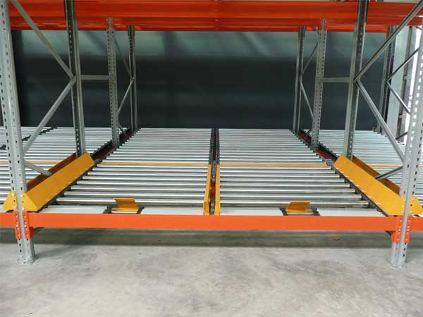 What are the advantages and disadvantages of gravity shelves