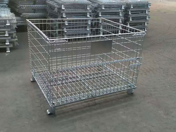 The application market of wire mesh pallet containers