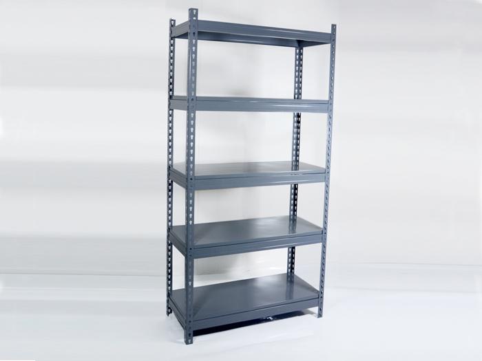 Light Duty Steel Boltless Rivet Shelving For Warehouse