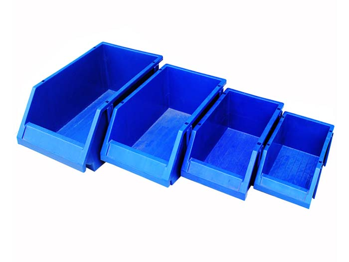 stackable plastic part storage bins for walmart