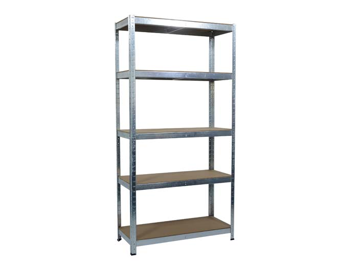 5 tire light duty garage shelving system