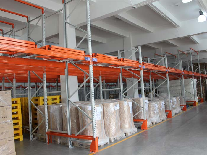 warehouse used push back racking system China manufacturers
