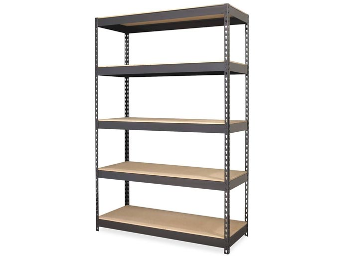 Light Duty MDF Boltless Rivet Rack Steel Shelving Manufacturers