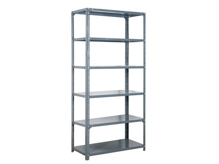 Hot Galvanized Slotted Angle Steel Iron Rack Shelving Design For Sale