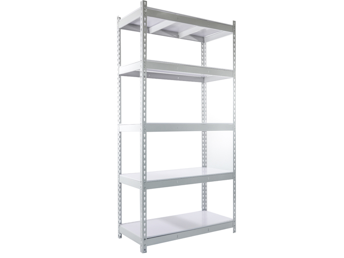 Powder-coated cheap edsal boltless metal rack rivet shelving system