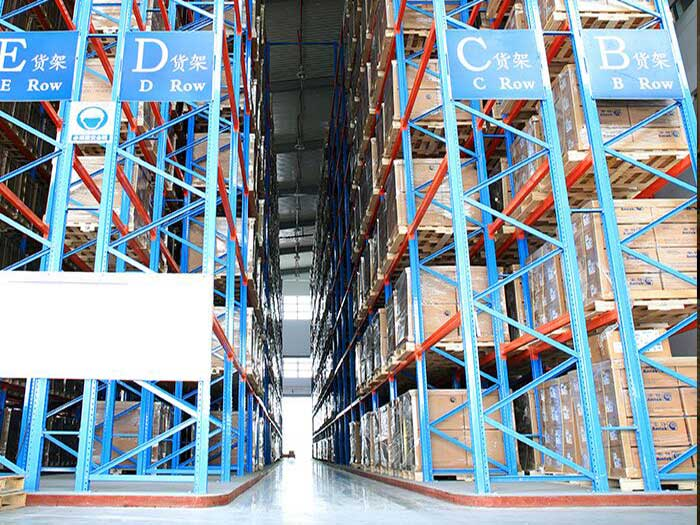 Spieth Heavy Duty Very Narrow Aisle Pallet Racking System