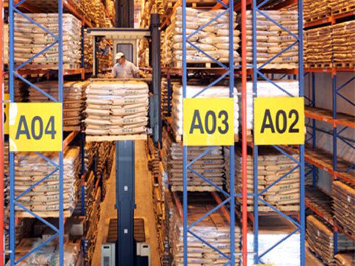 Spieth Heavy Duty Very Narrow Aisle Pallet Racking System