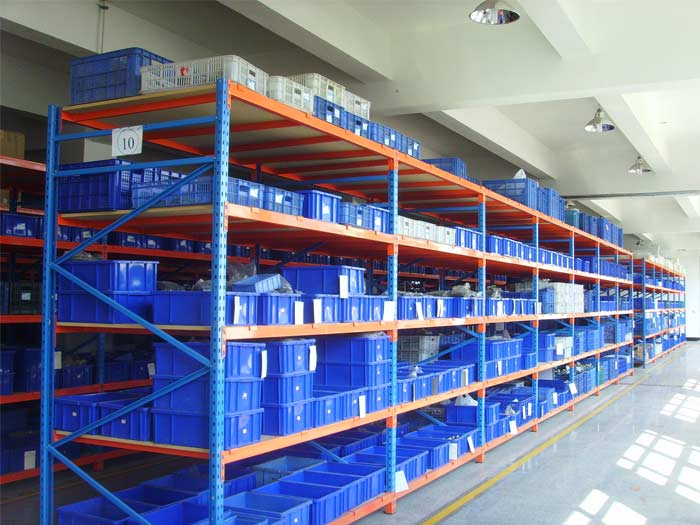 Spieth warehouse used dexion longspan shelving system