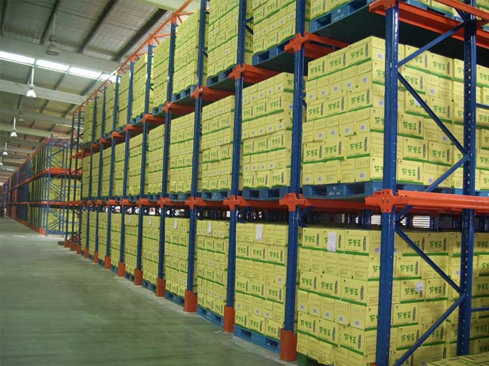 What is double deep pallet racking system