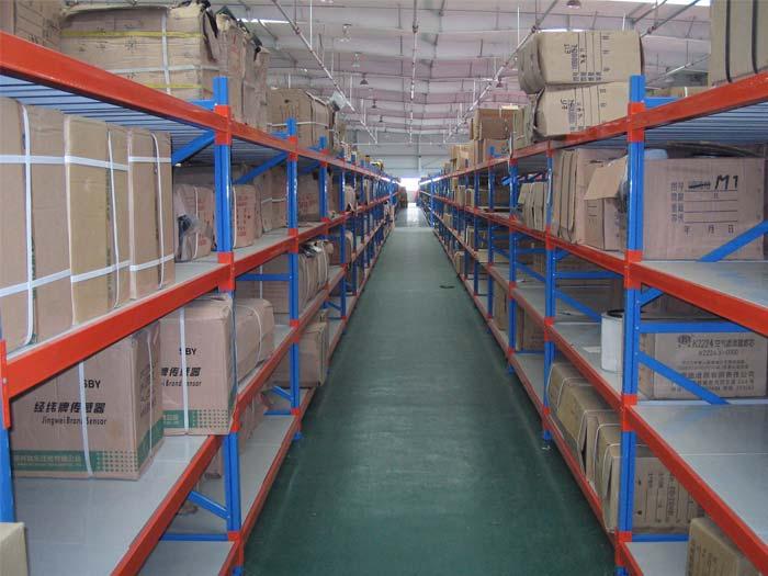 Warehouse storage Steel dexion longspan racking