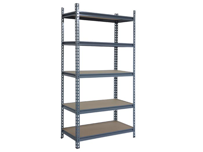 Light Duty Edsal Boltless Rivet Garage Shelving System