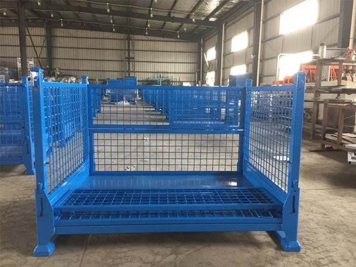 Spieth Heavy Duty Steel Pallet Box For Sale