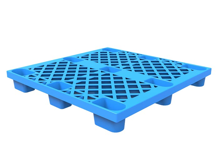 Industrial Lightweight Rackable Plastic Pallets