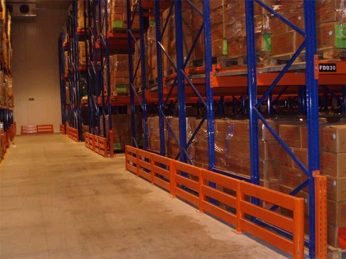 Spieth Shelving Steel Push Back Pallet Racks