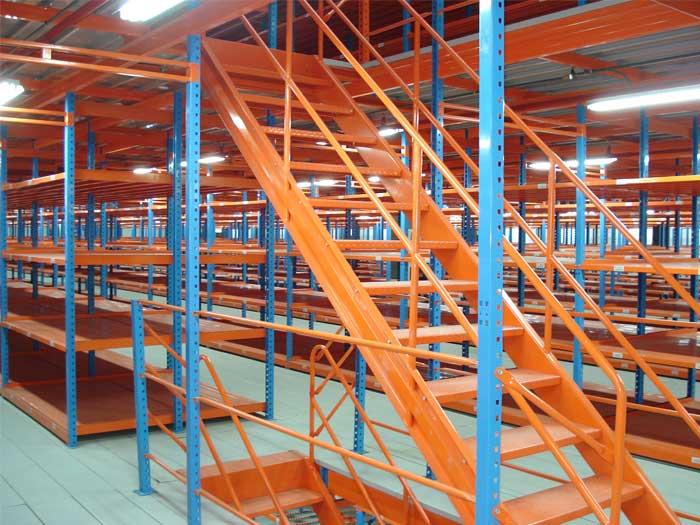 Pallet Racking Mezzanine Floor Rack For Warehouse