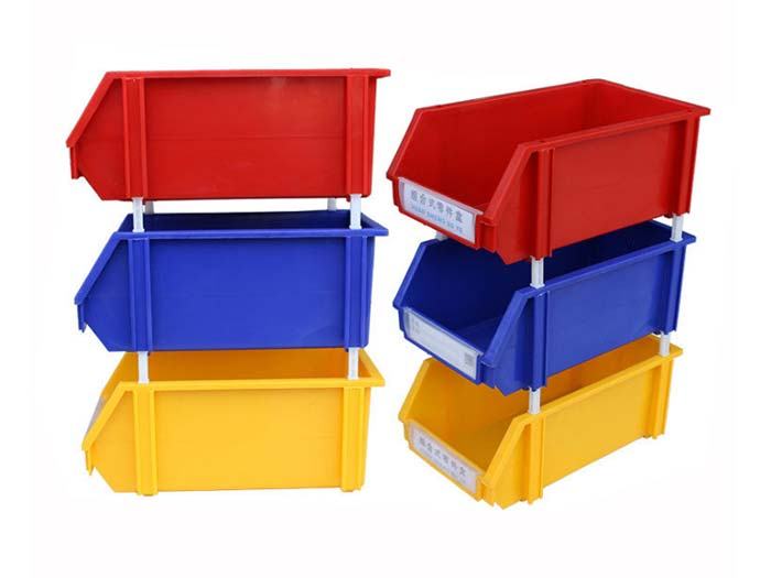 Walmart Stackable Plastic Storage Bin