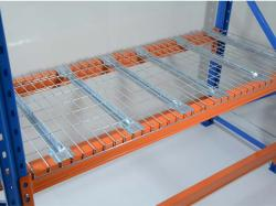 Galvanized zinc wire mesh decking used for pallet racking