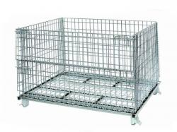 Galvanized Wire Mesh Container Cage heavy duty