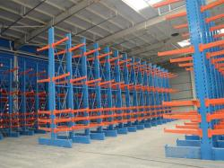 Warehouse cantilever pallet racking pipe system for sale