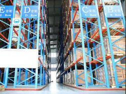 Heavy Duty Very Narrow Aisle Pallet Racking system for industry