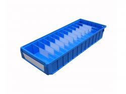 divided storage plastic parts bins with dividers for sale