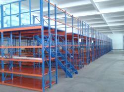 Customized Factory Warehouse Mezzanine Floors Racking System