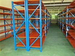 Spieth warehouse used dexion longspan shelving system