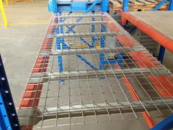 Spieth hot galvanized steel metal mesh decking panels
