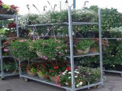 Spieth steel danish trolley carts shelves for sale
